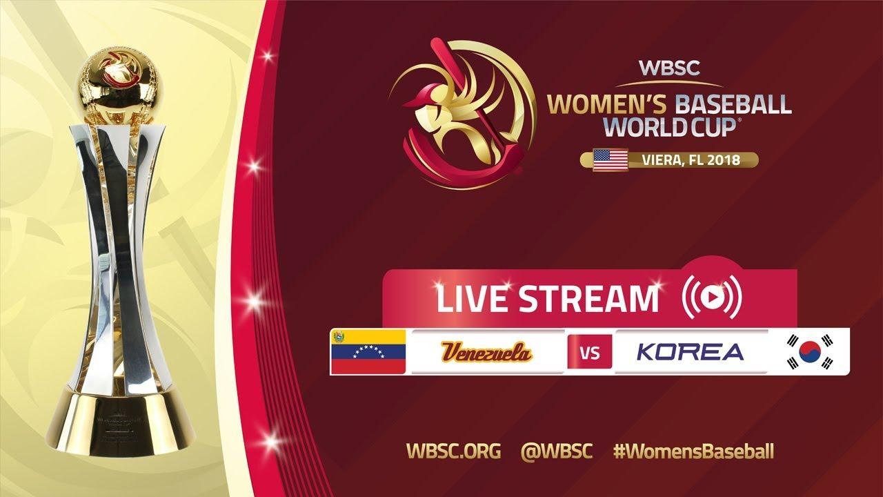 Venezuela v Korea - Women's Baseball World Cup 2018