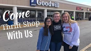 Come Thrift Shop With Us!!