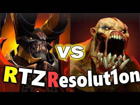 Arteezy DOOM vs Resolut1on Naix - MEGA Creep Game! - DOTA 2