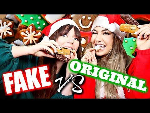 FAKE VS ORIGINAL - Weihnachtssüßigkeiten im TEST! 🎅🏼🎄