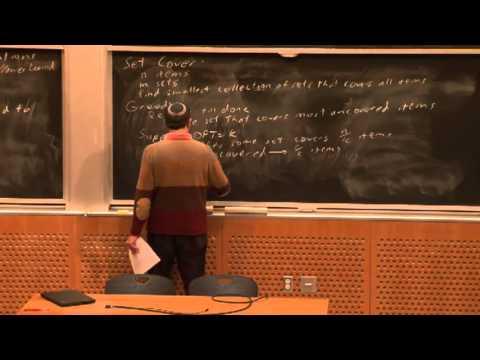 Lecture 19 10/28 Approximation Algorithms