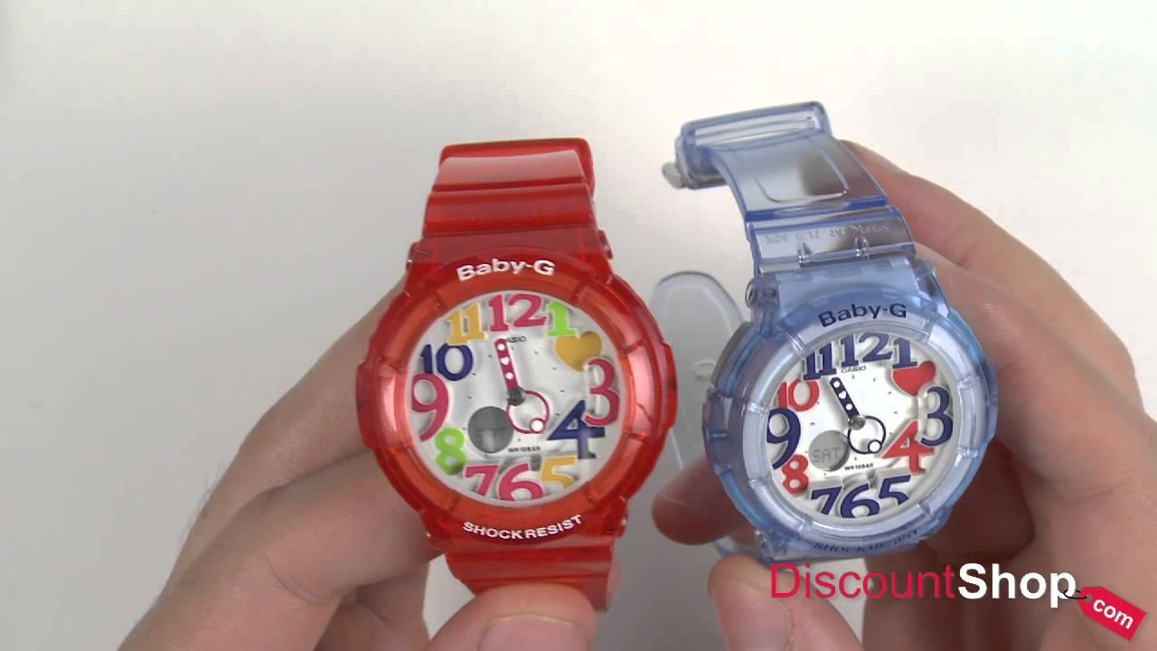 63a02f08a081a Casio Baby-G Watches - review by DiscountShop.com - YouTube