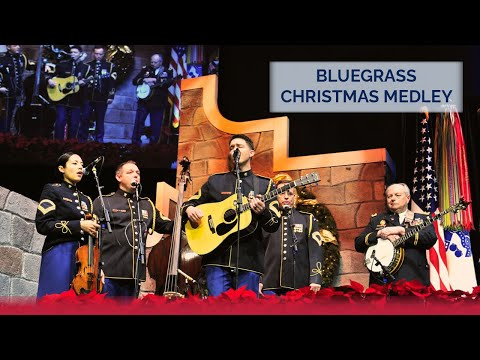 Bluegrass Christmas Medley | The U.S. Army Band's 2015 American Holiday Festival [sent 4 times]