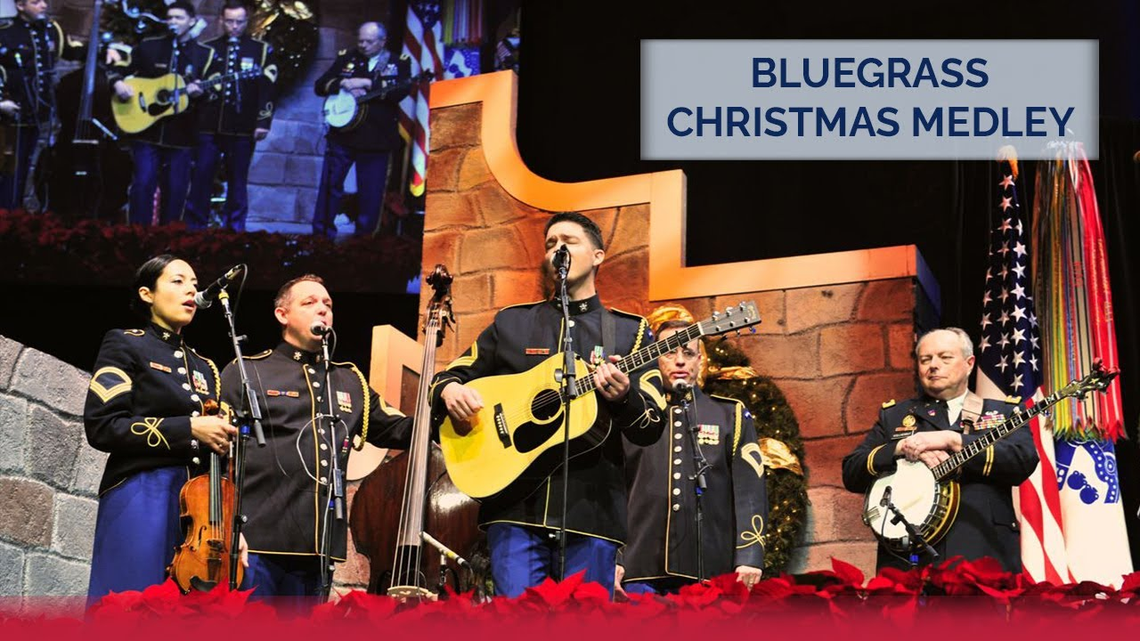 bluegrass christmas medley the us army bands 2015 american holiday festival - Bluegrass Christmas Music