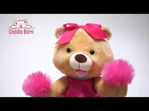 Cuddle Barn - Britney the Cheer Bear