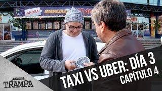 Taxi versus Uber: El tercer día | En su propia trampa | Temporada 2017