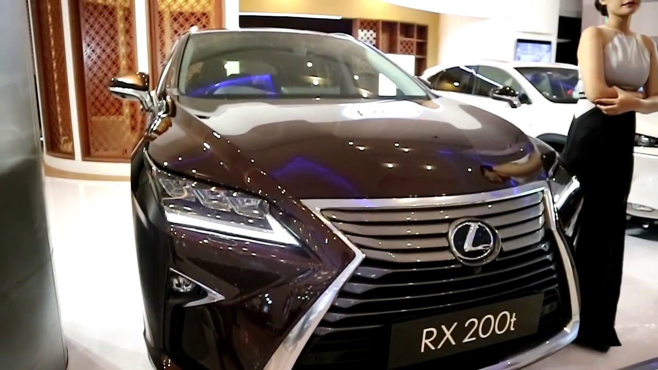 Lexus Rx 200 T 2018 Exterior And Interior Youtube