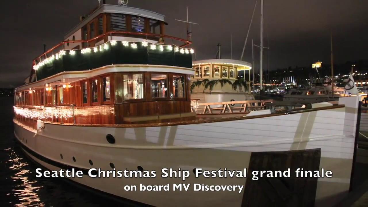 mv discovery seattle christmas ship festival - Argosy Christmas Ships 2014