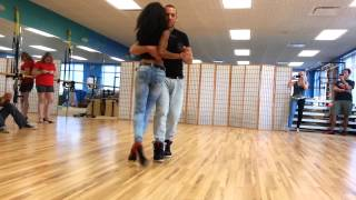 Видео: Isabelle and Félicien - Kizomba workshop in Tampa, FL
