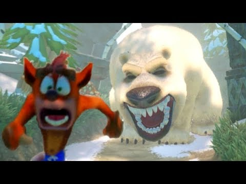 Crash Bandicoot N. Sane Trilogy - All Chase Levels