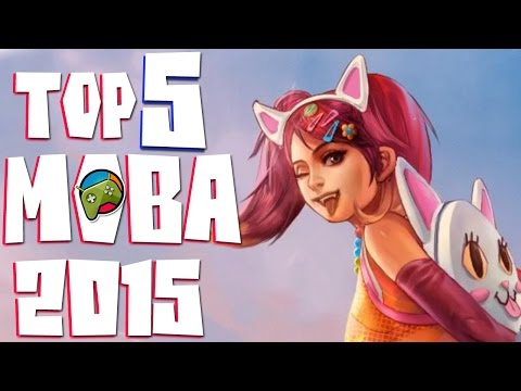 Top 5 Best MOBA On Android - IOS 2015 (Multiplayer Online Battle Arena)