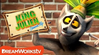 Is Gullible In The Dictionary? | KING JULIEN STAND UP