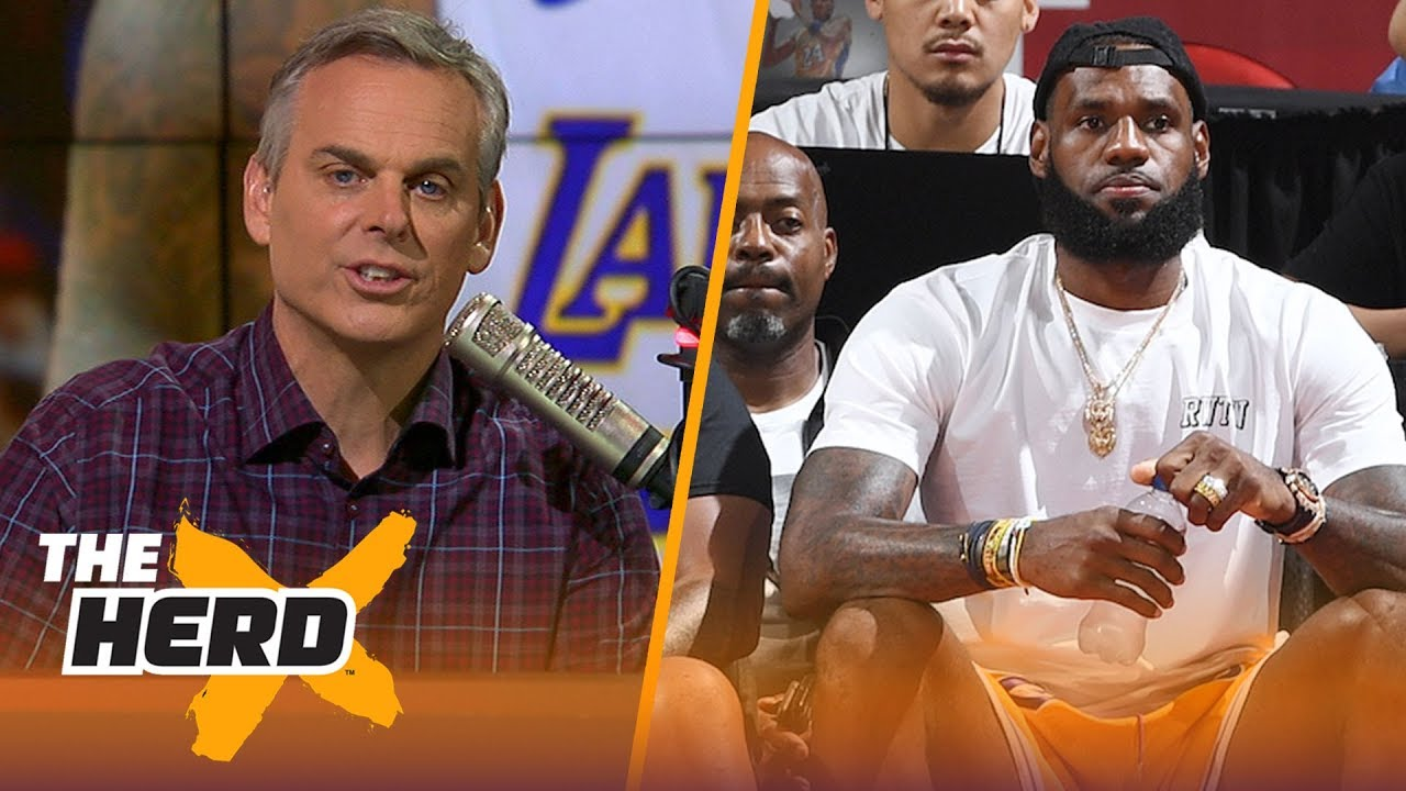 Colin Cowherd: Obsessive is the difference between great and legendary | NBA | THE HERD