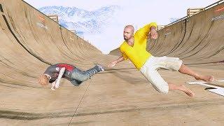 GTA 5 Crazy Jumper/Building Fall compilation (GTA 5 Funny Moments/Ragdolls)
