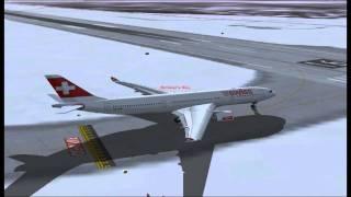 FS2004 Swiss A330-200 Zurich to Miami