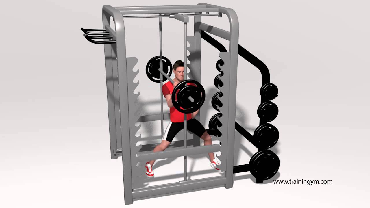 Lunge Lateral En Max Rack