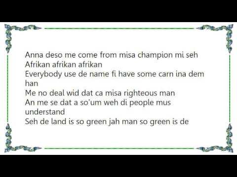 Ice MC - Afrikan Buzz Lyrics