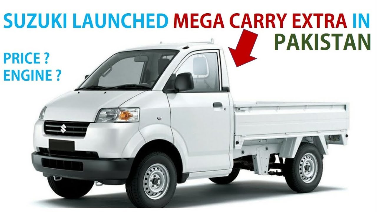 Suzuki Launched Mega Carry Extra In Pakistan Price Details Youtube