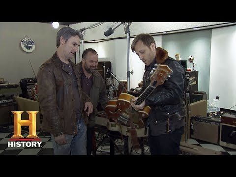 American Pickers: The Black Keys' Dan Auerbach Checks Out a Gretsch Guitar | History