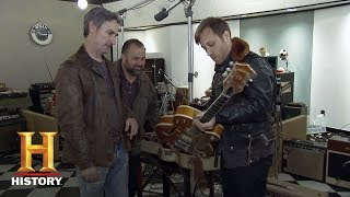 American Pickers: The Black Keys' Dan Auerbach Checks Out a Gretsch Guitar | History