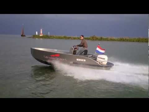 Tenderline Youngster 90hp Evinrude E-tec