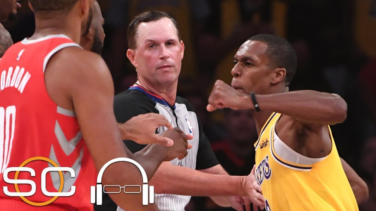Did Rondo spit on Chris Paul? Was Brandon Ingram justified in shoving James Harden? | SC with SVP
