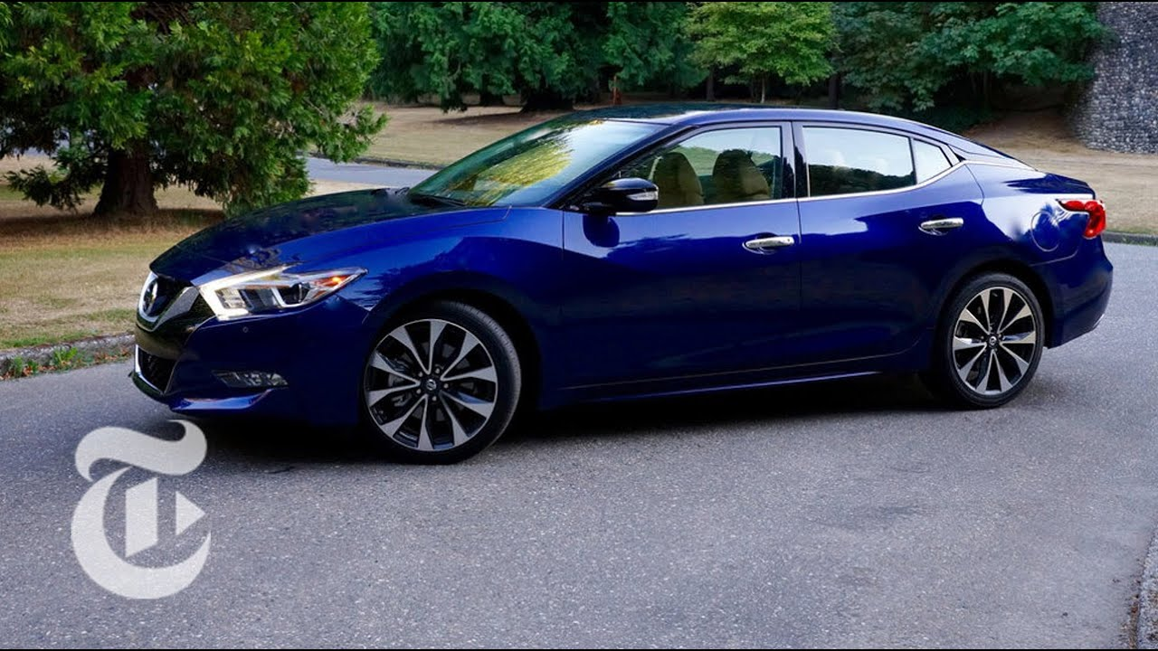 2016 Nissan Maxima Sr Driven Car Review The New York
