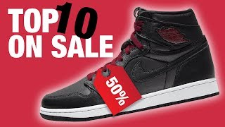 Top 10 SNEAKERS on SALE Right …