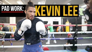 PAD WORK: Coach Dewey Cooper featuring KEVIN LEE.