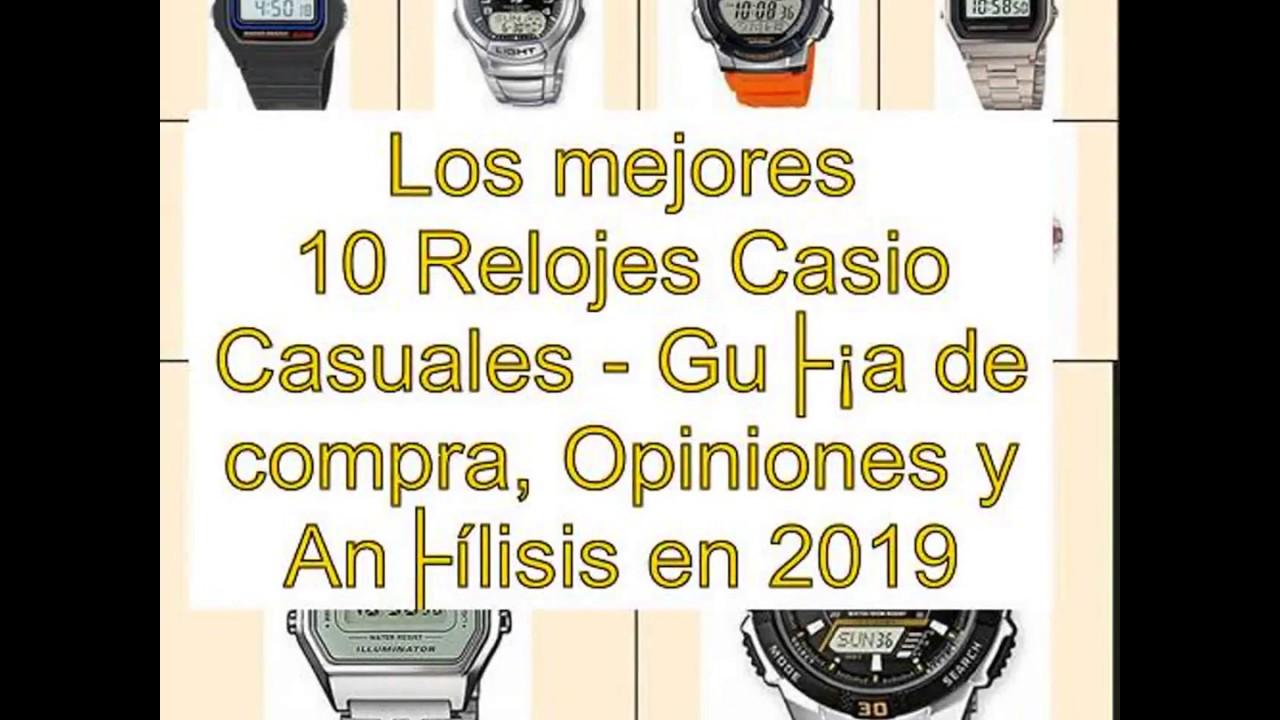 a0005e113 Los mejores 10 Relojes Casio Casuales - Guía de compra, Opiniones y  Análisis en 2