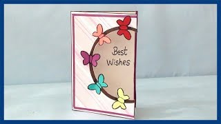 How to Make Greeting Card Ideas | Step by Step DIY Video Tutorial