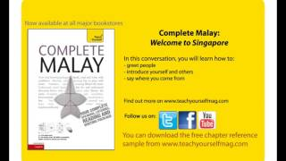 9781444102000 Complete Malay - Welcome to Singapore