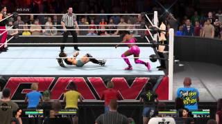WWE 2K15 Divas Tag Team Match