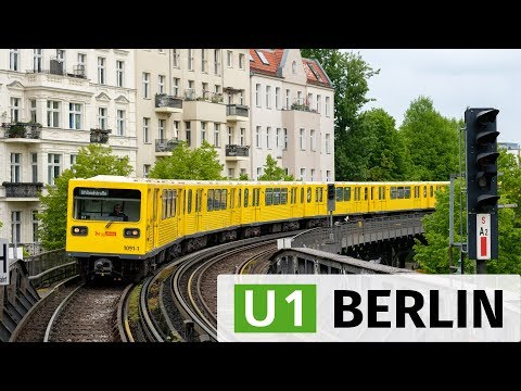 Berlin: The elevated U-Bahn line U1