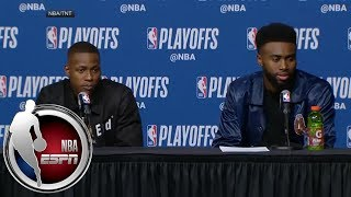 [FULL] Jaylen Brown after Celtics' Game 2 win: 'We just keep proving people wrong'   NBA on ESPN