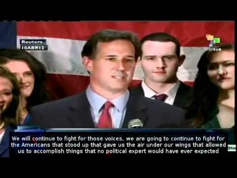 Santorum: Presidential race is over for me