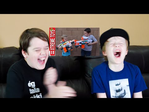 Epic Movie Time With Ethan And Cole! The Nerf Modulus Battle!