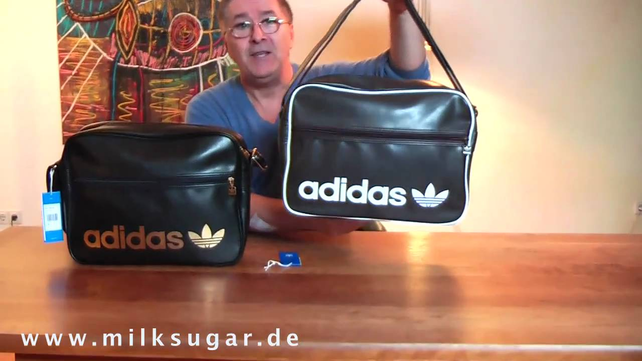adidas Originals Tasche - Adicolor Airliner Bag - YouTube 8f3e2a281c