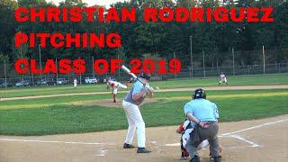 CHRISTIAN RODRIGUEZ CRUSADERS BASEBALL CLUB PITCHING HIGHLIGHTS