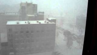 HEAVY SNOWFALL IN NOVOSIBIRSK (RUSSIA)