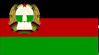 National Anthem   Democratic Republic of Afghanistan Milli Surood