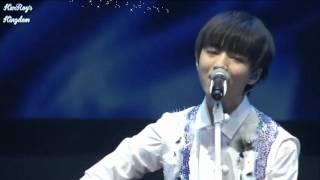 [KR'sK VIETSUB][Fan's time Quảng Châu 13/8] THỤ ĐỘC - Vương Tuấn Khải guitar solo