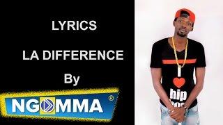 B  Face  - La différence (Official Lyrics)