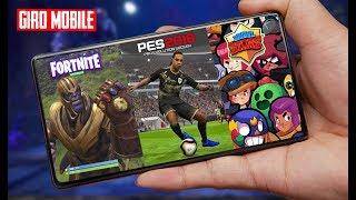 Saiu Fortnite Mobile Infinity Blade, Pes 19 Mobile, Brawl Stars E Mais