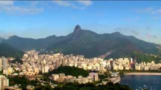 Рио-де-Жанейро. Пляж Ипанема. Фавелы Бразилии. Часть фильма