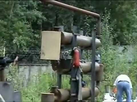 Tires Into Oil Retort