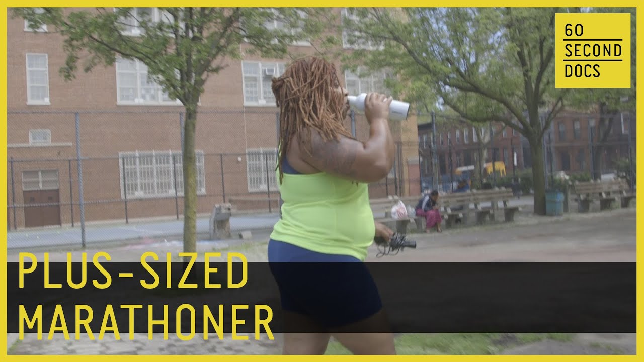 Fat And Fit Runner Proves Marathons Are For All Sizes