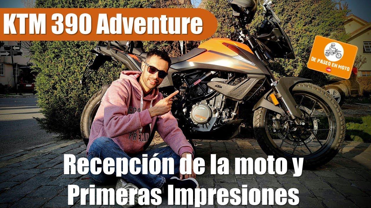Compre la KTM 390 Adventure 🥳, consideraciones al comprarla y retirarla y primeras impresiones🤯