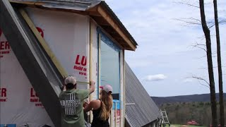 Living OFF-GRID: Building A House AND A Homestead