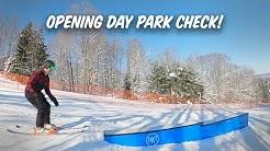 Peek'n Peak Opening Day Park Check!!